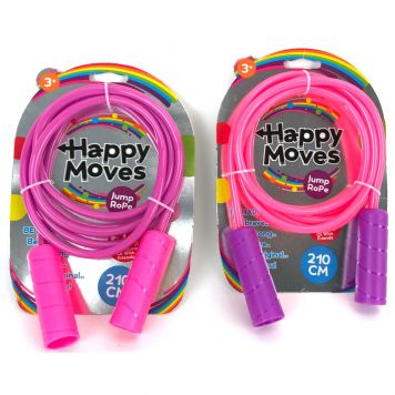 Springtouw 210 Cm Happy Moves 2 Assorti