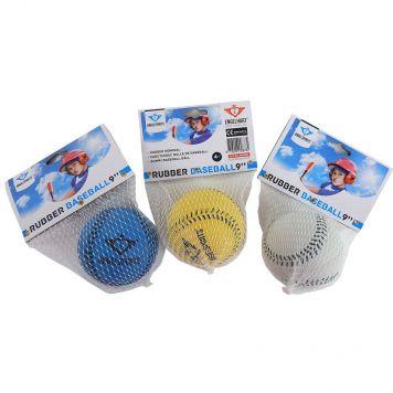Honkbal Rubber In Net