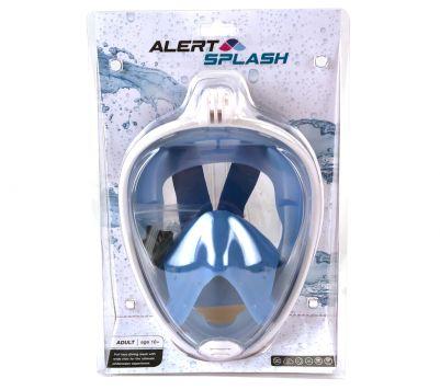 Snorkelmasker L/XL Blauw Alert