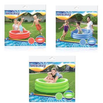 Zwembad 3-Rings 102x25 Cm Assorti Kleuren