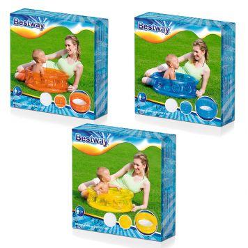 Zwembad  Baby +Opblaasbare Bodem 64 X 25 Cm  Assorti
