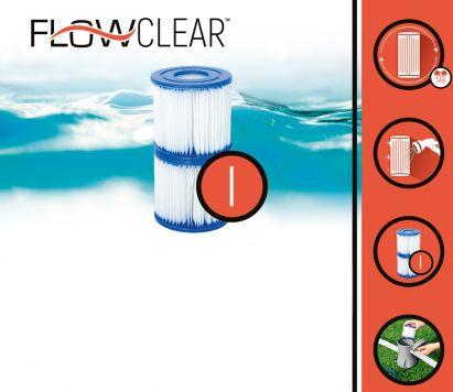 Filter Cartridge 244/305/366 Fast Pool 2 Stuks