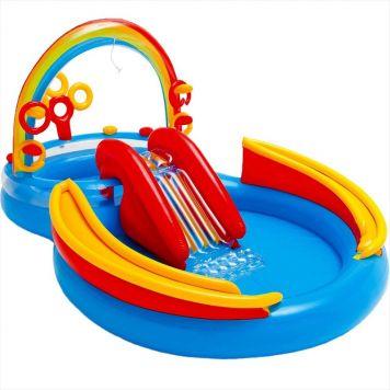 Zwembad Speelcentrum Regenboog 297 X 193 X 135 Cm
