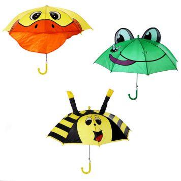 Paraplu Dieren 3 Assorti