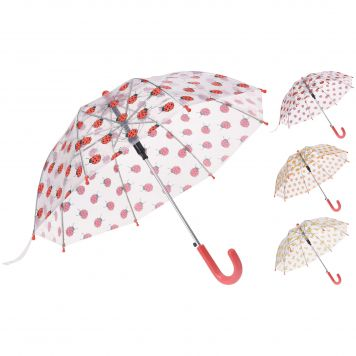 Paraplu Dieren Transparant Assorti