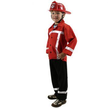 Verkleedset Brandweer Maat 104