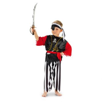 Verkleedset Piraat 3-6 Jaar