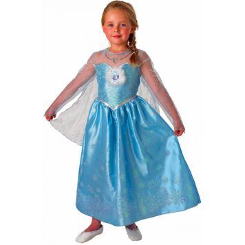 Verkleedset Frozen Elsa Deluxe Kind Maat M