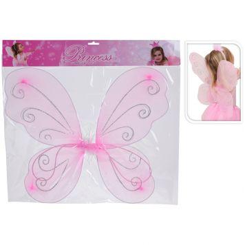 Prinsessen Vleugels Roze 50x47Cm