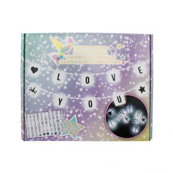 Unicorn Lichtbox Led Slinger Inclusief 60 Letters