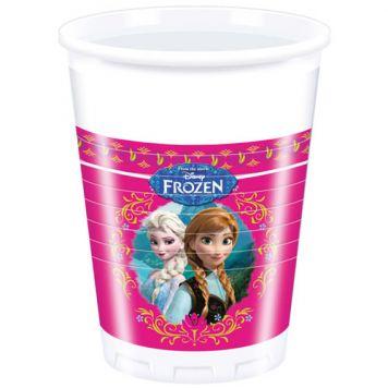 Drinkbeker Disney Frozen 8 Stuks
