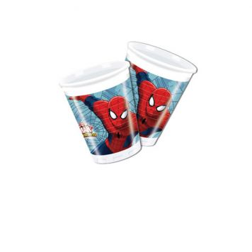 Drinkbeker Spiderman 8 Stuks