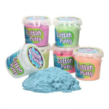 Cotton Putty 1000 Gram 6 Assorti