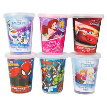 Disney Stretch Putty Assorti