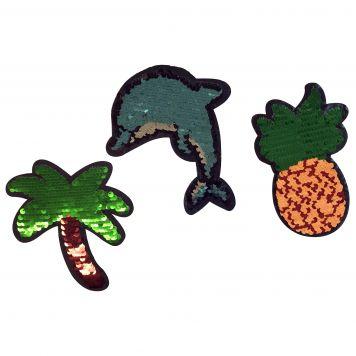 Sticker Sequin Groot Assorti