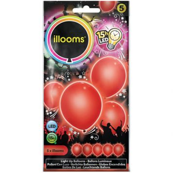 Illooms Red 5 Pack
