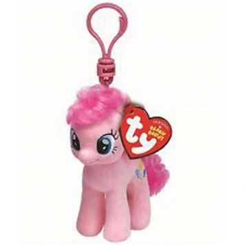 Sleutelhanger Ty Beanie My Little Pony Pinkie Pie 10cm