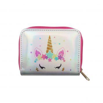 Unicorn Portemonnee 9*12 Cm