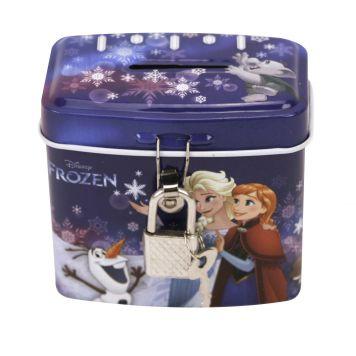 Frozen Spaarpot Blik Met Slot
