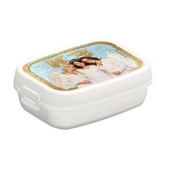 Lunchbox K3 Goud/Wit