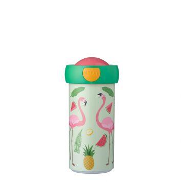 Mepal Schoolbeker Tropische Flamingo 300 ml