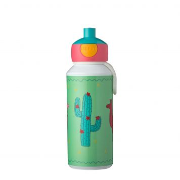 Drinkfles Pop-up Lama 400 ML