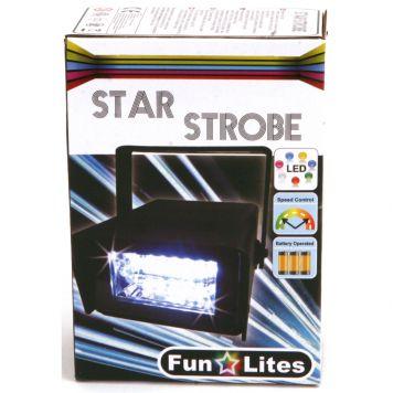 Disco Stroboscoop Led B/O