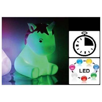 Unicorn Lamp Met Timer 16 Cm
