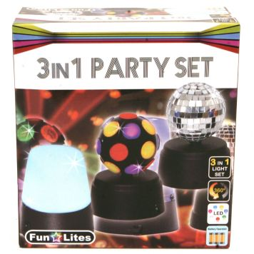 Disco 3 In 1 Party Set B/O