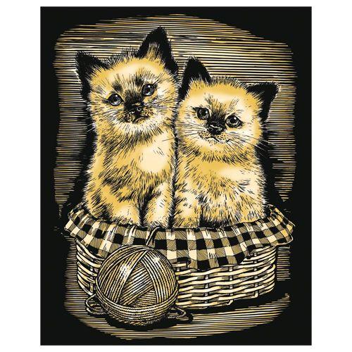 Krasfolie Kittens
