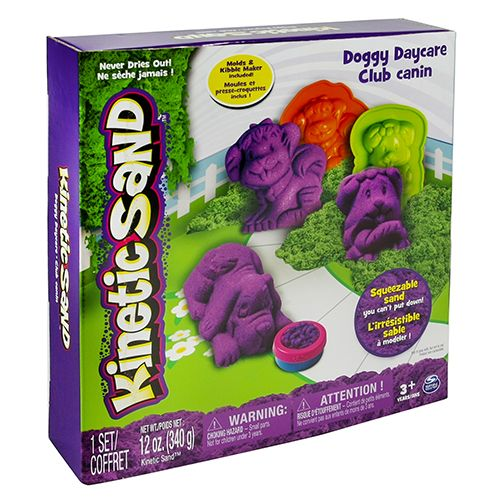 Speelzand Kinetic Sand Doggy Daycare Set 340 Gram