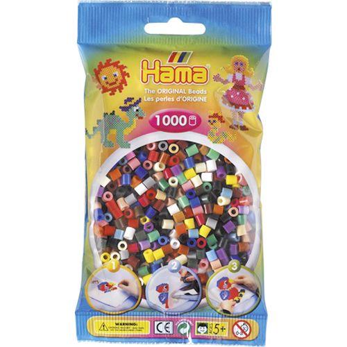 Strijkkralen Hama 1000 Stuks Assorti 2