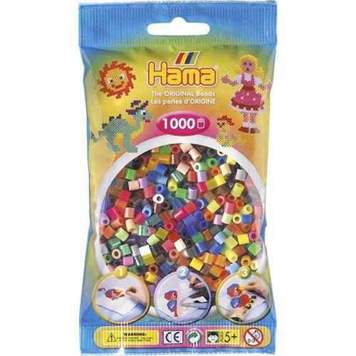 Strijkkralen Hama 1000 Stuks Assorti 3