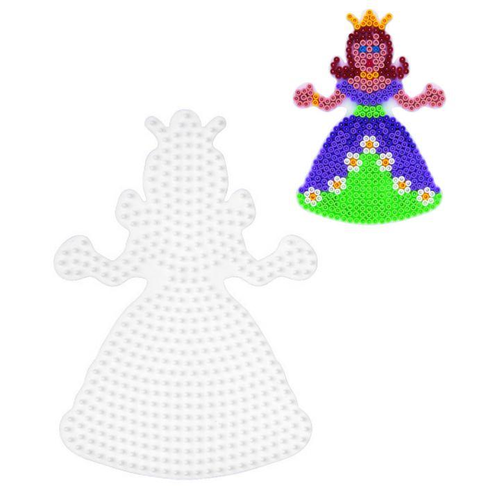 Strijkkralen Grondplaat Hama Prinses