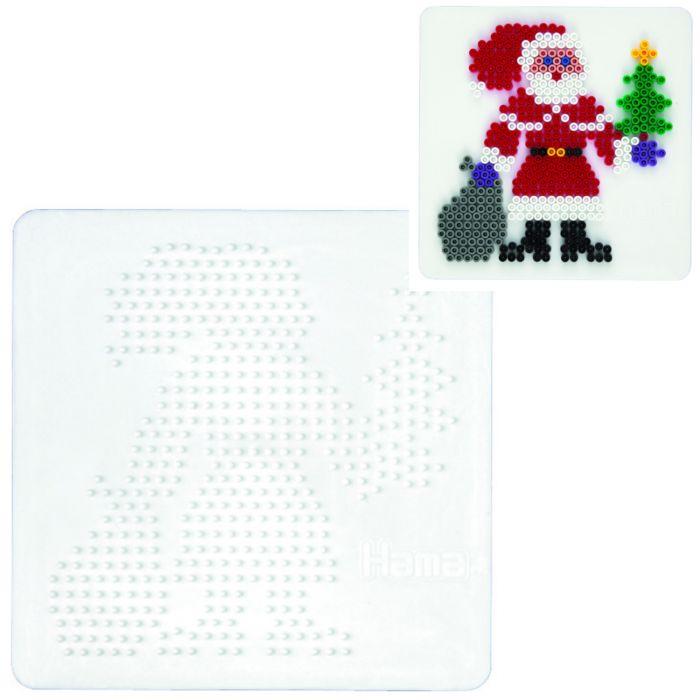Strijkkralen Grondplaat Hama Kerstman