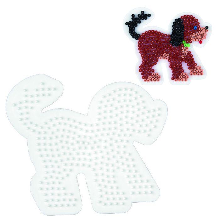 Strijkkralen Grondplaat Hama Hond 1