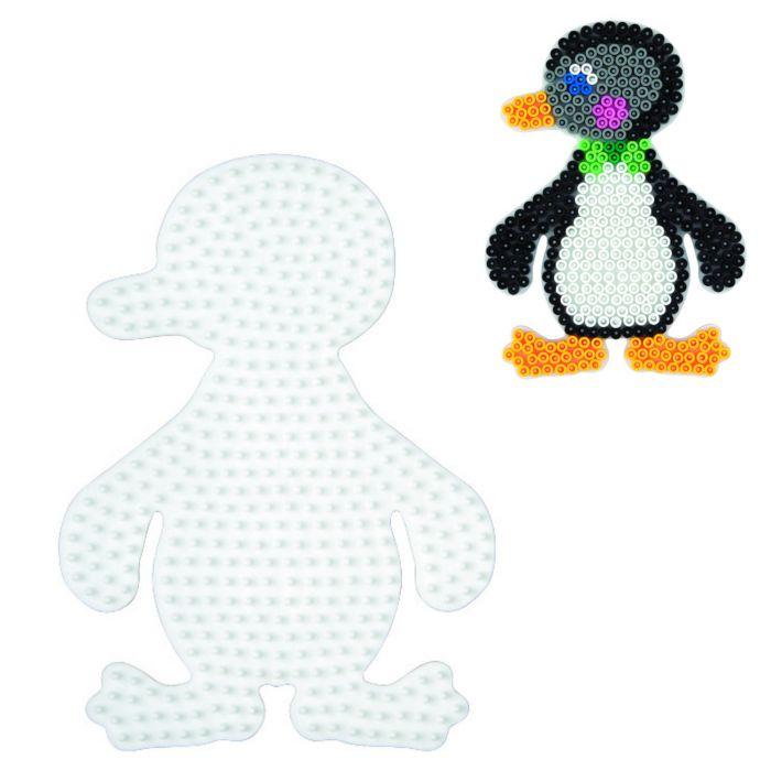 Strijkkralen Grondplaat Hama Pinguin