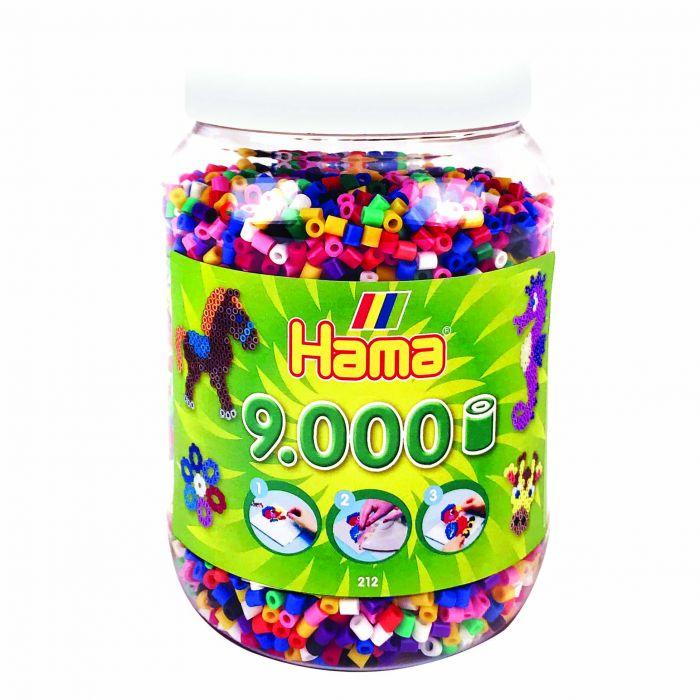 Strijkkralen Hama In Pot 9000 Stuks Primair