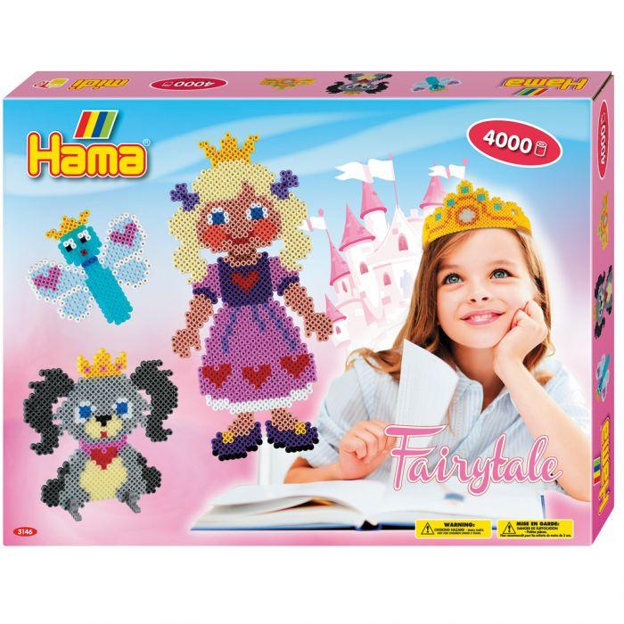 Strijkkralen Hama Fairytale 4000 Delig