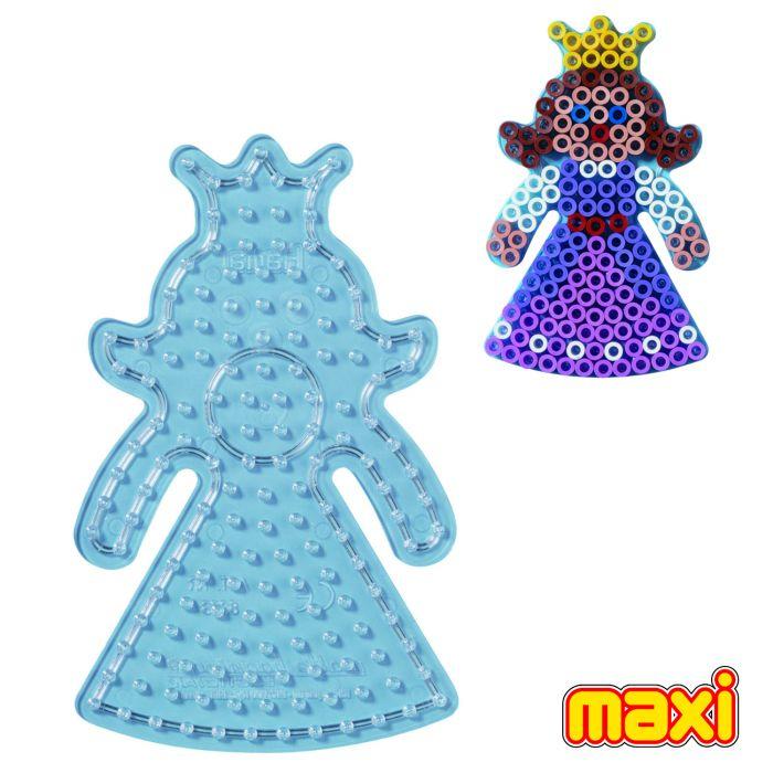 Strijkkralen Grondplaat Hama Maxi Prinses