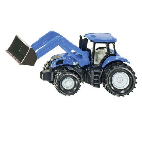 Tractor Siku New Holland Met Frontlader