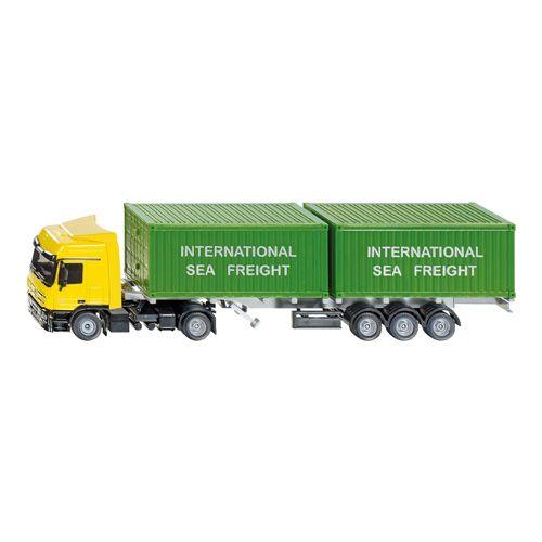Vrachtwagen Siku + Container
