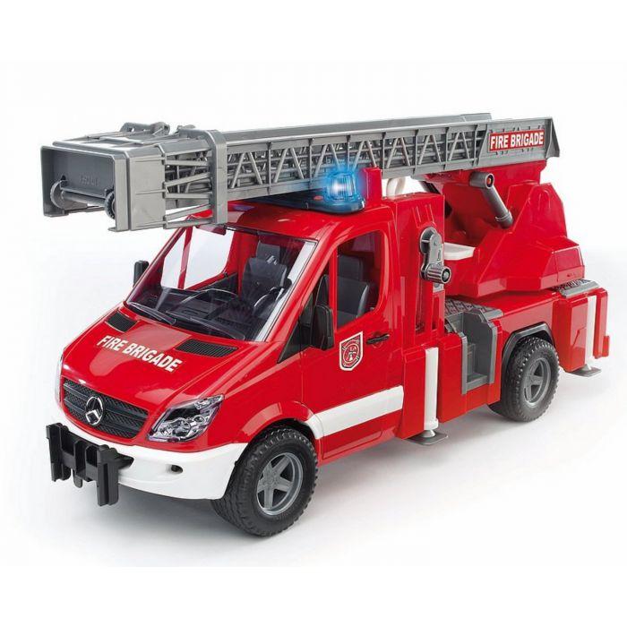 Bruder Brandweerwagen Met Licht En Geluid