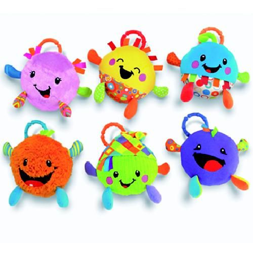Knuffel Fisher Price Giggle Gang Assorti