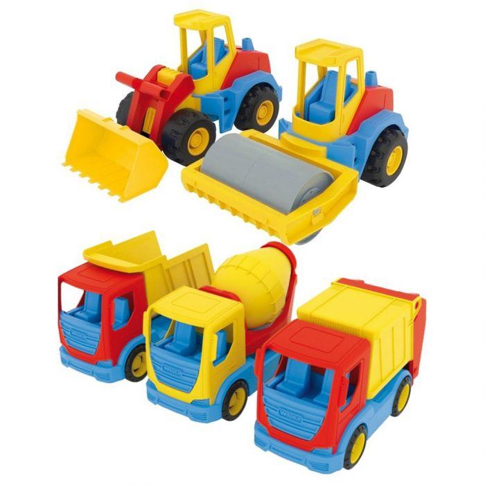 Constructiewagens 24 Cm Assorti