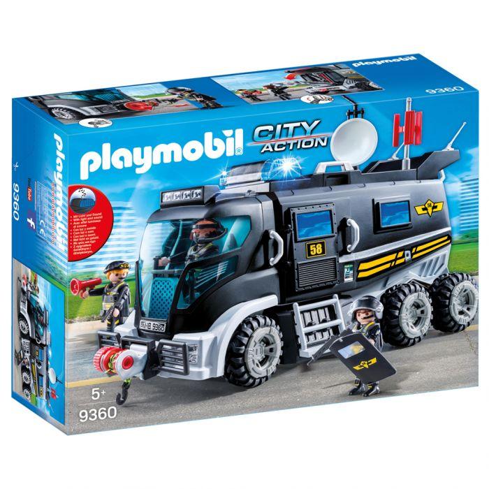 Playmobil 9360 Sie Truck Met Licht En Geluid