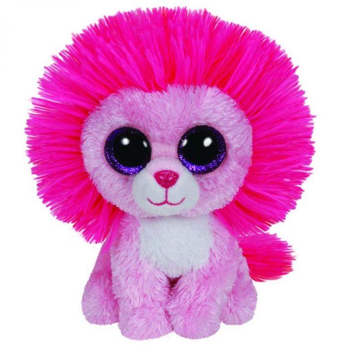 Ty Beanie Fluffy Leeuw 15 Cm