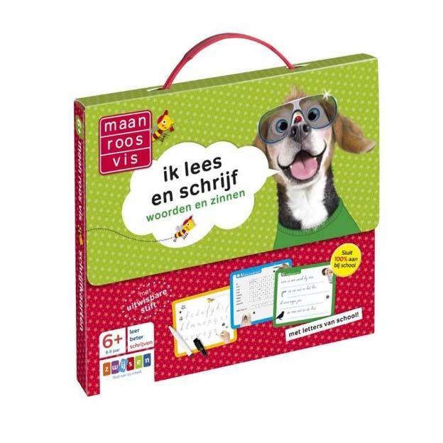 Maan Roos Vis Ik Lees En Schrijf Koffer - Top1Toys