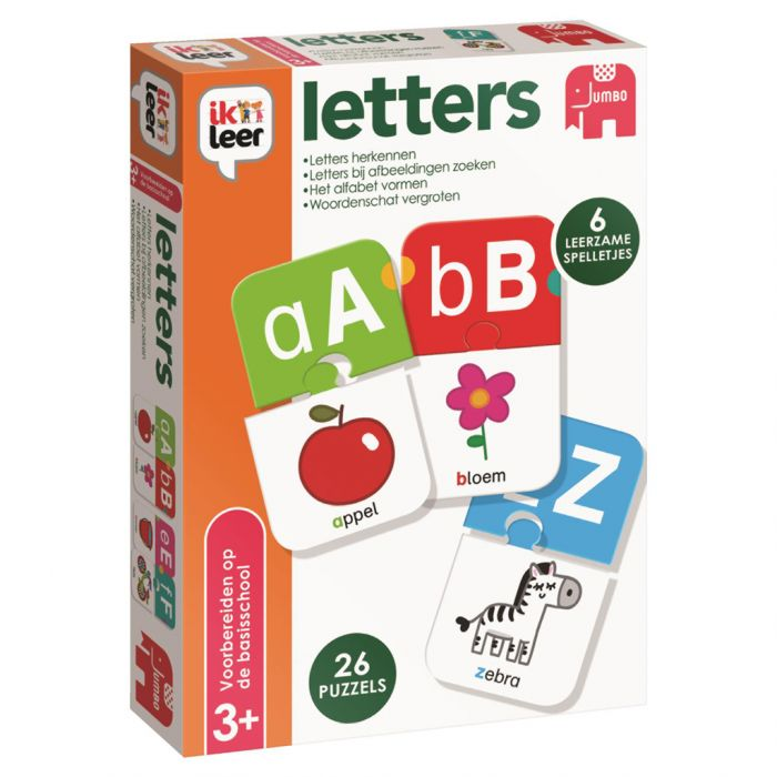 Spel Ik Leer Letters