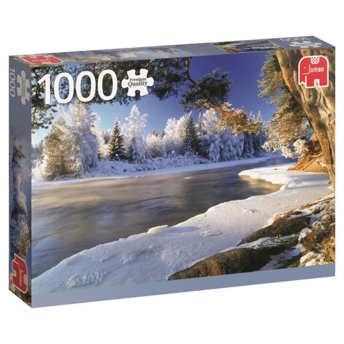 Puzzel Dal River Sweden 1000 Stukjes